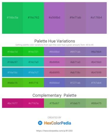 Palette image download - Lime Green – Aqua – Medium Orchid – Light Slate Gray – Light Slate Gray