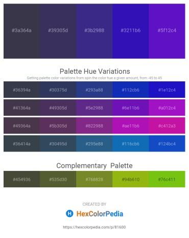 Palette image download - Dark Slate Gray – Dark Slate Blue – Dark Slate Blue – Medium Blue – Blue Violet