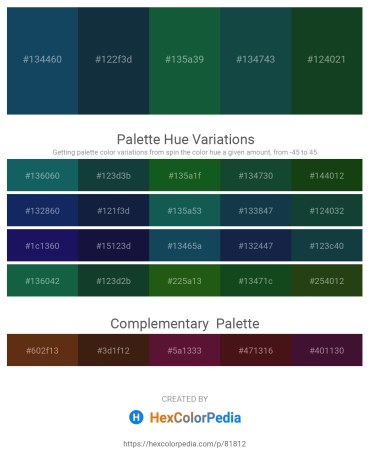 Palette image download - Midnight Blue – Midnight Blue – Indian Red – Moccasin – Yellow