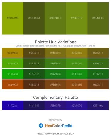 Palette image download - Olive – Medium Aquamarine – Olive Drab – Olive Drab – Olive Drab