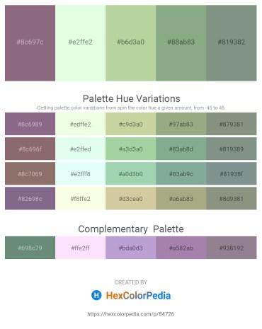 Palette image download - Gray – Honeydew – Dark Sea Green – Dark Sea Green – Dark Sea Green