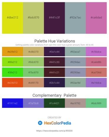 Palette image download - Gold – Dark Khaki – Blue – Light Slate Gray – Pale Violet Red