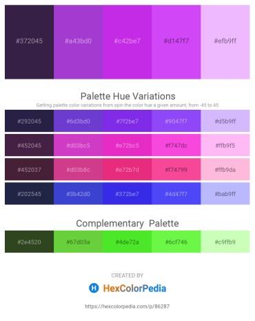 Palette image download - Dark Slate Blue – Dark Orchid – Blue Violet – Blue Violet – Burlywood