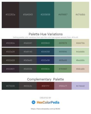 Palette image download - Black – Dark Slate Gray – Light Slate Gray – Cadet Blue – Tan