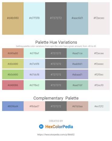 Palette image download - Tan – Pale Turquoise – Dim Gray – Light Steel Blue – White Smoke