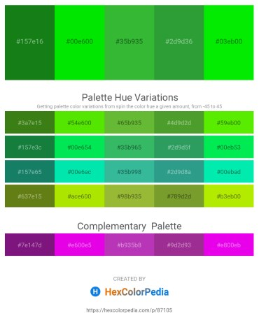 Palette image download - Forest Green – Black – Lime Green – Forest Green – Lime