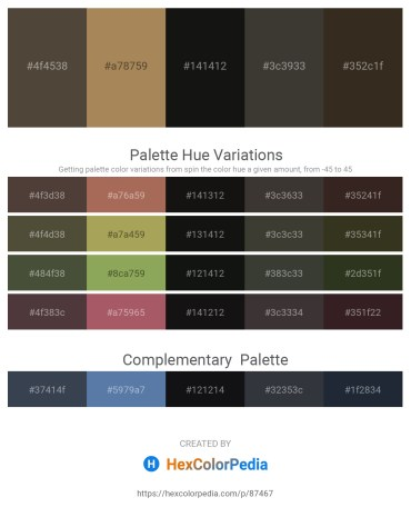Palette image download - Dark Slate Blue – Dark Khaki – Black – Dim Gray – Turquoise