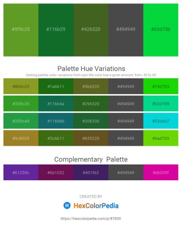 Palette image download - Olive Drab – Forest Green – Dark Olive Green – Dim Gray – Lime