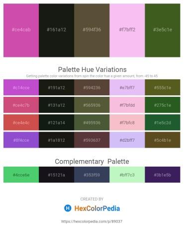 Palette image download - Pale Violet Red – Black – Dark Olive Green – Violet – Dark Olive Green