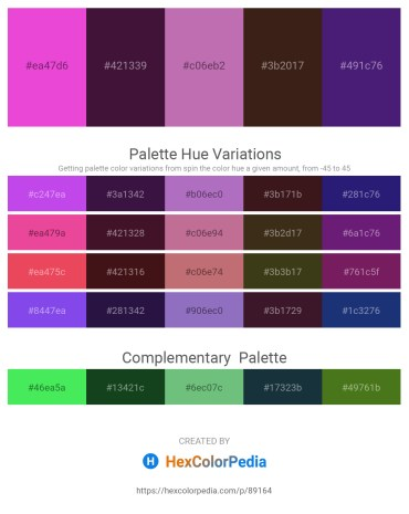 Palette image download - Violet – Tan – Orchid – Dark Salmon – Midnight Blue