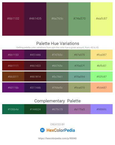 Palette image download - Blue Violet – Dark Orchid – Dim Gray – Dark Sea Green – Khaki