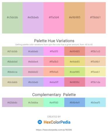 Palette image download - Dark Sea Green – Lavender – Light Pink – Dark Salmon – Sky Blue