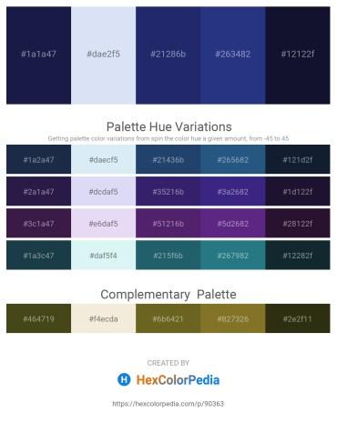 Palette image download - Midnight Blue – Lavender – Midnight Blue – Midnight Blue – Midnight Blue