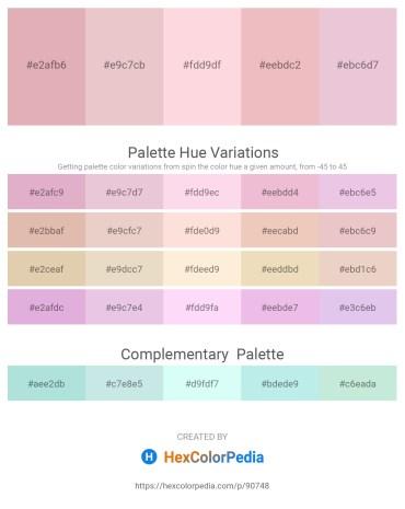 Palette image download - Plum – Plum – Misty Rose – Indian Red – Plum