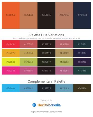 Palette image download - Chocolate – Indian Red – Black – Pale Violet Red – Violet