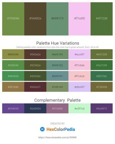 Palette image download - Dark Olive Green – Dark Olive Green – Cadet Blue – Violet – Dark Olive Green
