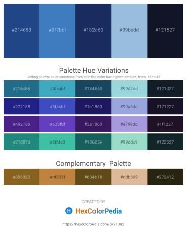 Palette image download - Midnight Blue – Steel Blue – Midnight Blue – Light Blue – Dodger Blue