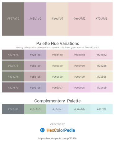Palette image download - Gray – Thistle – Beige – Dim Gray – Rosy Brown
