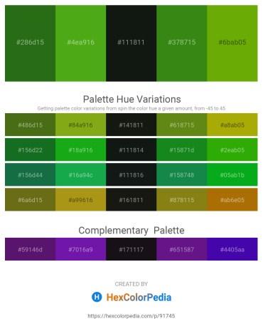 Palette image download - Forest Green – Olive Drab – Dark Slate Gray – Forest Green – Olive