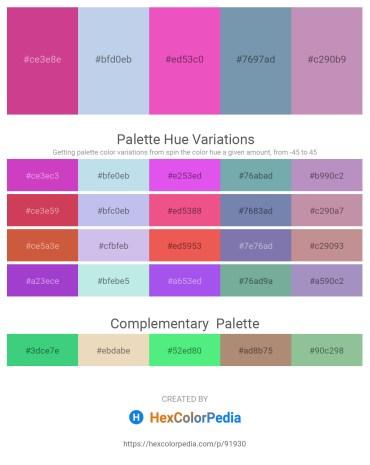 Palette image download - Pale Violet Red – Light Blue – Violet – Cadet Blue – Rosy Brown