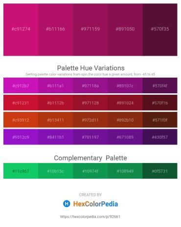 Palette image download - Medium Violet Red – Medium Violet Red – Medium Violet Red – Light Pink – Pink