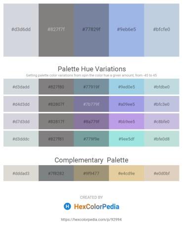 Palette image download - Light Steel Blue – Gray – Light Slate Gray – Light Blue – Light Steel Blue