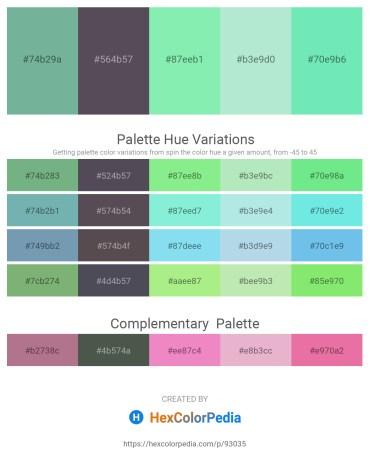 Palette image download - Cadet Blue – Olive – Light Green – Powder Blue – Light Green