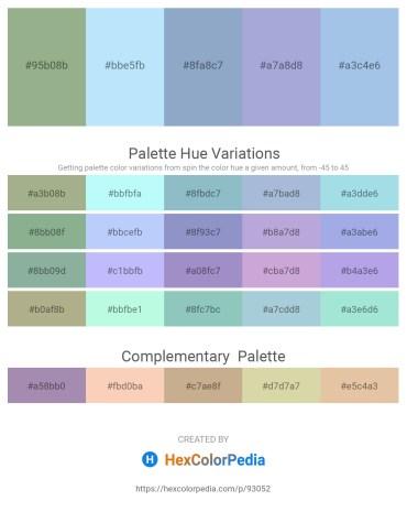 Palette image download - Dark Sea Green – Light Sky Blue – Light Steel Blue – Light Steel Blue – Light Blue
