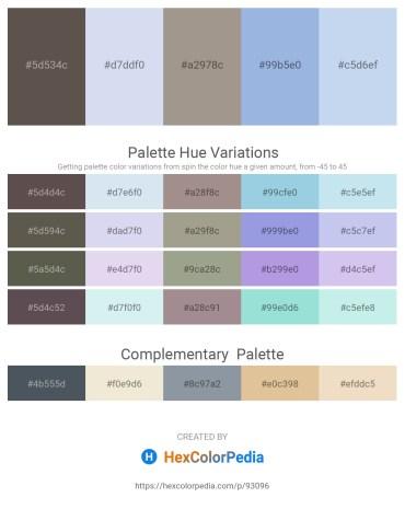Palette image download - Dim Gray – Light Steel Blue – Dark Gray – Light Blue – Light Blue