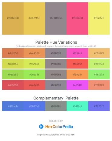 Palette image download - Peru – Sandy Brown – Gray – Salmon – Khaki