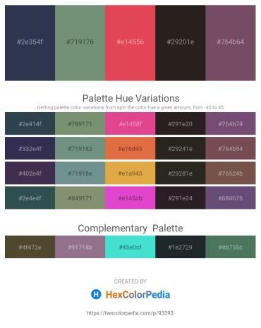 Palette image download - Dark Slate Gray – Cadet Blue – Indian Red – Black – Light Blue