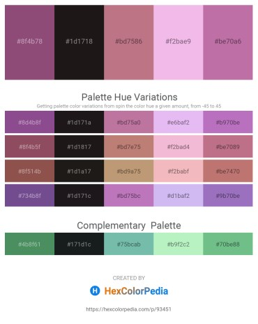 Palette image download - Sienna – Black – Rosy Brown – Violet – Rosy Brown