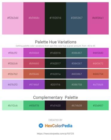 Palette image download - Violet – Indian Red – Dark Slate Gray – Dark Slate Gray – Pale Violet Red