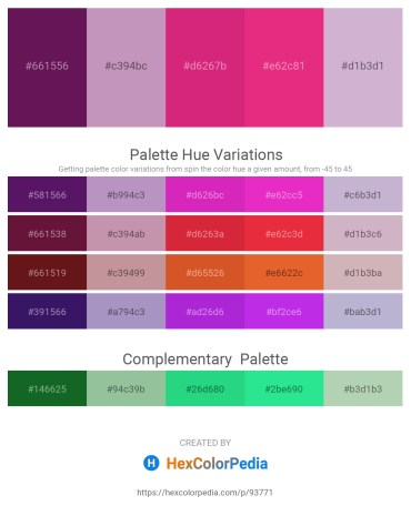 Palette image download - Purple – Rosy Brown – Medium Violet Red – Medium Violet Red – Thistle
