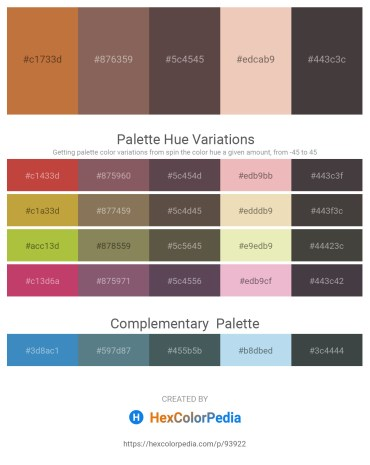 Palette image download - Peru – Dim Gray – Dim Gray – Olive – Dim Gray