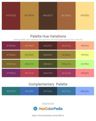 Palette image download - Brown – Peru – Salmon – Sienna – Navajo White