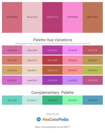 Palette image download - Pale Violet Red – Plum – Indian Red – Violet – Indian Red