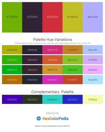 Palette image download - Olive – Crimson – Firebrick – Goldenrod – Light Sky Blue