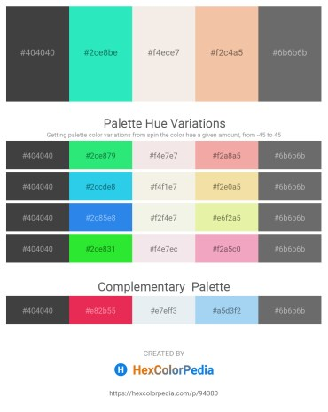 Palette image download - Dim Gray – Turquoise – Beige – Wheat – Dim Gray