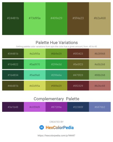 Palette image download - Dark Olive Green – Yellow Green – Forest Green – Dark Olive Green – Dark Khaki