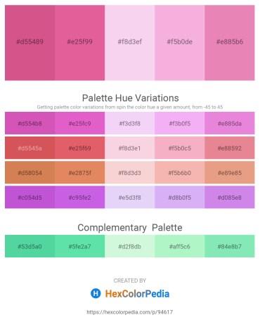 Palette image download - Pale Violet Red – Pale Violet Red – Linen – Violet – Pale Violet Red