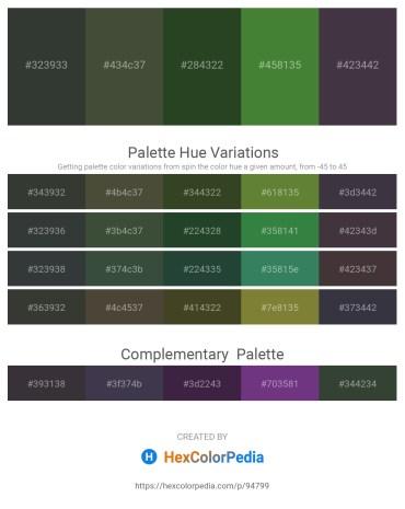 Palette image download - Dark Slate Gray – Dark Olive Green – Dark Olive Green – Dark Olive Green – Salmon