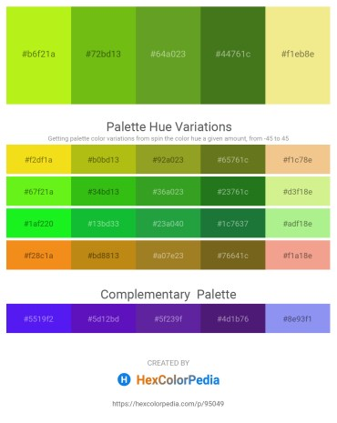 Palette image download - Green Yellow – Olive Drab – Olive Drab – Forest Green – Khaki