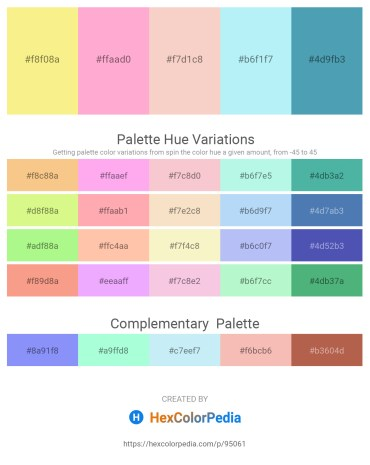Palette image download - Khaki – Light Pink – Wheat – Pale Turquoise – Steel Blue