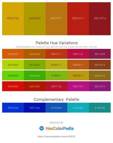 Palette image download - Dark Goldenrod – Dark Goldenrod – Dark Goldenrod – Firebrick – Firebrick