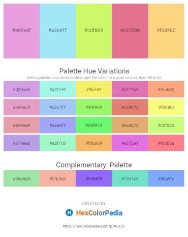 Palette image download - Plum – Light Sky Blue – Khaki – Pale Violet Red – Olive Drab