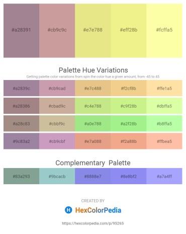 Palette image download - Rosy Brown – Rosy Brown – Khaki – Khaki – Moccasin