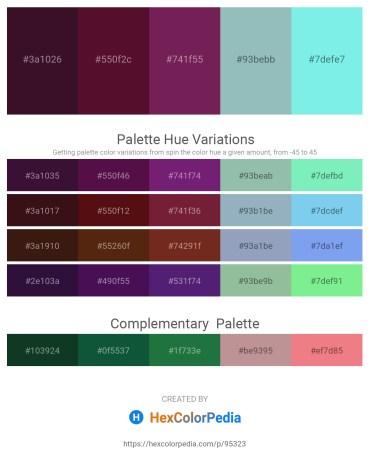 Palette image download - Midnight Blue – Indigo – Dark Violet – Dark Sea Green – Sky Blue