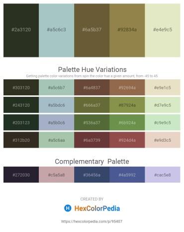 Palette image download - Dark Slate Blue – Dark Sea Green – Dark Olive Green – Dark Olive Green – Beige