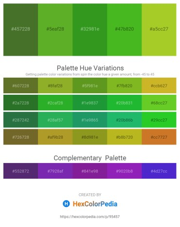 Palette image download - Dark Olive Green – Olive Drab – Forest Green – Lime Green – Yellow Green
